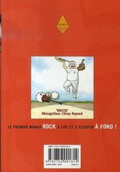 Beck t.16 - 4ème de couverture - Format classique