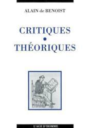 Critiques Theoriques - Couverture - Format classique