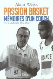 Passion basket ; memoires d'un coach - Intérieur - Format classique