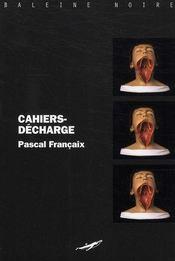 Cahiers-décharge - Intérieur - Format classique