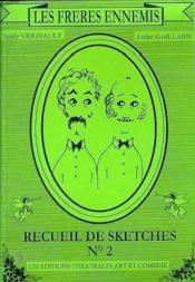 Les freres ennemis ; recueil t.2 - Couverture - Format classique