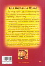 Cuissons - Les Bonnes Et Les Mauvaises - 4ème de couverture - Format classique