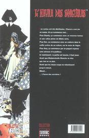 L'Heure Des Sorcieres - 4ème de couverture - Format classique