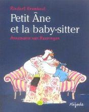 Petit Ane Et La Baby Sitter - Intérieur - Format classique