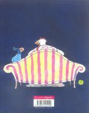 Petit Ane Et La Baby Sitter - 4ème de couverture - Format classique