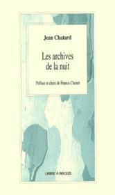 Les Archives De La Nuit - Couverture - Format classique
