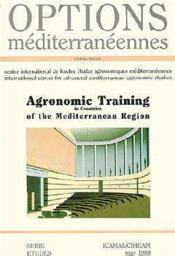 Agronomic training in countries of the mediterranean region ; options mediterraneennes - Couverture - Format classique