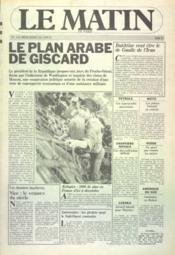 Matin De Paris (Le) N°756 du 01/08/1979 - Couverture - Format classique