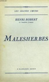 Malesherbes. - Couverture - Format classique