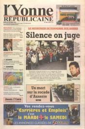 Yonne Republicaine (L') N°246 du 23/10/2001 - Couverture - Format classique