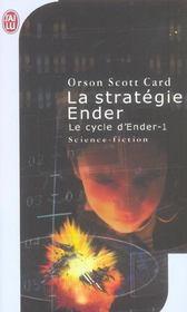 La Strategie Ender - Le Cycle D'Ender-1 - Intérieur - Format classique