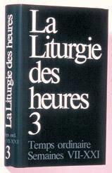 Liturgie des heures t 3 - Couverture - Format classique