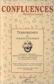 Terrorismes Et Violence Politique - Couverture - Format classique