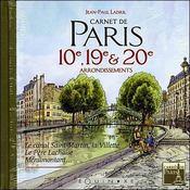 Carnet de paris : 10ème,19ème et 20ème arrondissements - Intérieur - Format classique