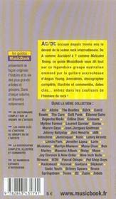 Ac/dc De A A Z - 4ème de couverture - Format classique