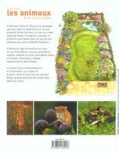 Attirez Les Animaux Dans Votre Jardin - 4ème de couverture - Format classique