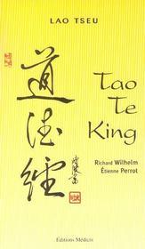 Tao Te King - Intérieur - Format classique
