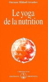 Le yoga de la nutrition - Couverture - Format classique