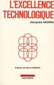 Excellence Technologique (L') - Couverture - Format classique