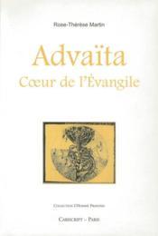 Advaïta coeur de l'Evangile - Couverture - Format classique