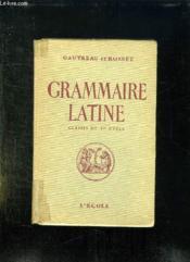 Grammaire Latine Pour Les Classes Du Premier Cycle. - Couverture - Format classique