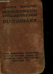 Cassell'S Miniature French-English English-French Dictionary - Couverture - Format classique