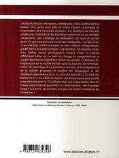 Les minorités ethniques aux Etats-Unis (2e édition) - 4ème de couverture - Format classique
