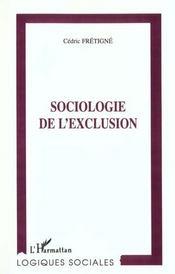 Sociologie de l'exclusion - Intérieur - Format classique