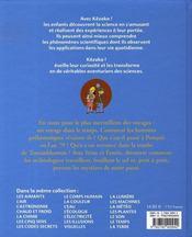 L'archéologie - 4ème de couverture - Format classique
