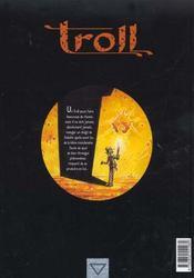 Troll t.1 ; les insoumis - 4ème de couverture - Format classique