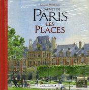 Carnet de paris : les places - Intérieur - Format classique