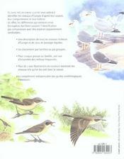 Identifiez Les Oiseaux Par Leur Aspect, Leur Comportement Et Leur Habitat - 4ème de couverture - Format classique