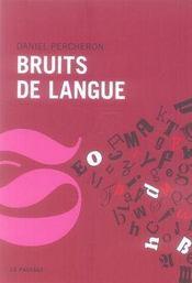 Bruits de langue - Intérieur - Format classique