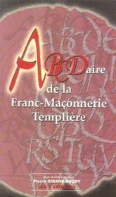 Abcdaire de la franc-maçonnerie templière - Intérieur - Format classique