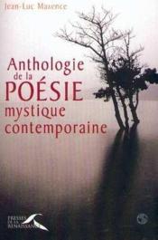 Anthologie De La Poesie Mystique Contemporaine - Couverture - Format classique