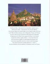Mon beau pays, la Haute-Loire - 4ème de couverture - Format classique