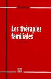 Les thérapies familiales - Couverture - Format classique