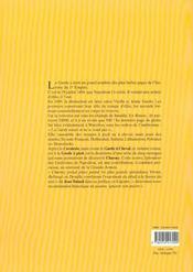 La Garde Imperiale A Pied. Splendeur Des Uniformes De Napoleon - 4ème de couverture - Format classique
