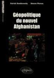 Geopolitique Du Nouvel Afghanistan - Couverture - Format classique