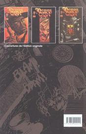 Demon gun - 4ème de couverture - Format classique