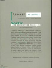 Vente livre :  Sortir de l'ecole unique  - Collectif - Jubert-F+Collectif - Jubert Francis