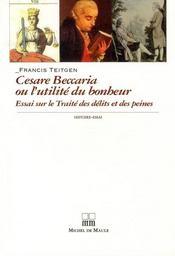 Cesare Beccaria ou l'utilité du bonheur - Intérieur - Format classique