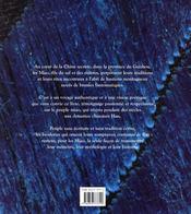 Les miao de la chine secrète ; brodeurs de brume - 4ème de couverture - Format classique