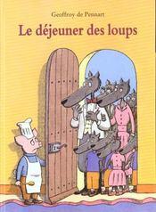 Dejeuner Des Loups (Le) - Intérieur - Format classique