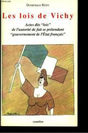 Lois De Vichy - Couverture - Format classique