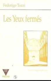 Les Yeux Fermes - Couverture - Format classique