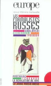 Europe - Les Formalistes Russes N 911 - Mars 2005 - Intérieur - Format classique