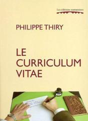 Le Curriculum Vitae - Couverture - Format classique