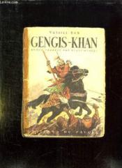 Gengis Khan. - Couverture - Format classique