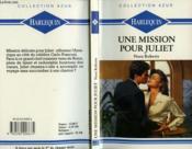 Une Mission pour Juliet - Couverture - Format classique